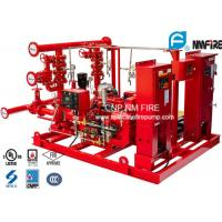 Buy cheap UL / NFPA20 Skid Mounted Fire Pump Package 300GPM Ductile Cast Iron Materials from wholesalers