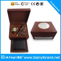 Buy cheap 2015 new products for men fashion simple businessmen model men watch gift set from wholesalers