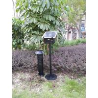 Outdoor solar garden insect killer light-black-stainless steel-elecrtic shock Manufactures