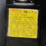 A06B-0034-B075 Fanuc AC Motor A06B-0034-B075#0008