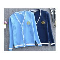 Buy cheap Beautiful Children International School Uniform Sweaters With Customized Logo from wholesalers