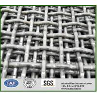 Buy cheap 1224mmx2230mm carbon steel mine screen mesh for cursher stone screen from wholesalers