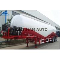 Buy cheap 35m3 - 55m3 Tank Body Cement Tanker Trailer With The Weichai Brand Engine from wholesalers