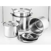 Buy cheap high quality stainless steel cookware set & 24 /26/28/30cm sause pot & 8pcs  stcok pot from wholesalers