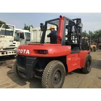 Buy cheap Toyota FD70 Second Hand Diesel Forklifts , 2 Stage Used 7 Ton Forklift from wholesalers