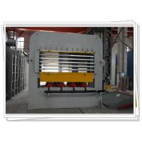 Short Cycle Laminate Hot press Machine With Multi Layer For Wooden Job Veneering Manufactures