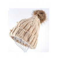 Buy cheap Venonat Winter Knit Hats For Women , Customized Knitted Bobble Hat Original from wholesalers