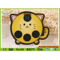 Buy cheap Cute Cat Shape LCD Body Forehead Thermometer Strip Fever Stickers Customized from wholesalers