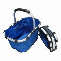 Buy cheap Foldable Utility Basket, Easy-to-carry, Made of 600D Polyester and Aluminum product