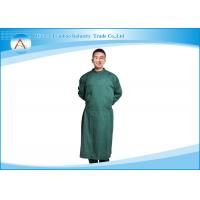 Buy cheap Polyester Operating Room Reusable Surgical Gowns Clothing With Knitted Cuff from wholesalers