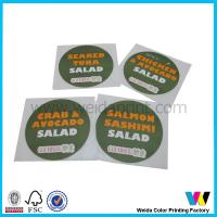 Buy cheap Multicolor Round Custom Sticker Printing from wholesalers