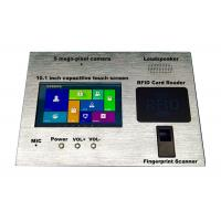 China 400 Cd/M² Brightness Industrial Tablet PC , Ruggedized Windows Tablet With Camera on sale