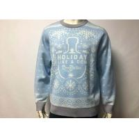 Buy cheap Custom Made Amazing Adult Ugly Christmas Sweater Knitted Pullover For Men from wholesalers