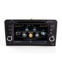 Buy cheap 7 2DIN HD WINCE 6.0 car DVD GPS navigation for AUDI A3 support 1080P SWC BT RADIO 3G IPOD TV from wholesalers