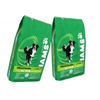 Buy cheap Vacuum Sealed Composite Pet Dog Cat Food Packaging Bag With High Barrier from wholesalers