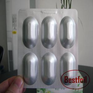 China Big pocket alu alu laminated foil pvc pharmaceutical alu foil on sale