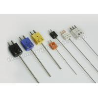 Buy cheap Nickel - Plated Iron Thermocouple Components RTD ConnectorApproved CE from wholesalers