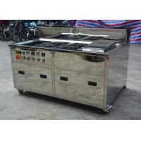 Buy cheap Metal Screen Ultrasonic Cleaning Equipment Rinse Dry Consoles 80 KHZ 120 KHZ from wholesalers