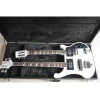 Buy cheap Double neck 4 string 4003 BASS GUITAR and 12 string elctric guitar color can custom guitar big R bridge from wholesalers