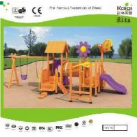 Buy cheap Wooden Outdoor Playground (KQ9158A) product