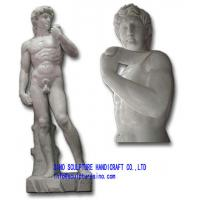 Wholesale Marble Statue - Michelangelo's David from china suppliers