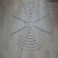 Buy cheap Hanging Wire Mesh Baskets , 200mm Air Exhaust Black Wire Metal Fan Finger Guard from wholesalers