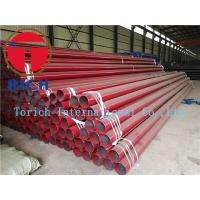 Buy cheap Round Erw Q235 Welded Steel Tube , Black Painted Erw Steel Pipe Gb/t9711-2011 Psl1 from wholesalers