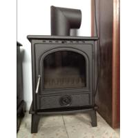 Wholesale 8KW matt black casting iron wood stoves from china suppliers