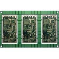 Buy cheap Immersion Silver FR4 Black Printed Circuit Board PCB Assembly Design from wholesalers