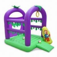 Wholesale Inflatable Castle with 0.3mm PVC Thickness, Measures 170 x 170 x 180cm, Available Different Colors from china suppliers