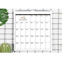 Buy cheap Large Size Art Paper Chinese Wall Calendar Printing Services  Matte Lamination from wholesalers