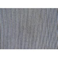 Buy cheap Beautiful Cotton Blended Fabric / Yarn Dyed Stripe Fabric Shrink - Resistant from wholesalers