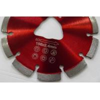 Buy cheap soff-cut laser welded diamond saw blade for green concrete from wholesalers