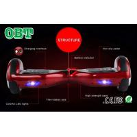 Buy cheap Stand Up Self Balancing Electric Skateboard 2 Wheels Mini Hover Board from wholesalers