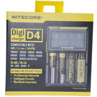 Nitecore D4  flashlight battery charger, EU/US Plug Intelligent Battery Charger Manufactures