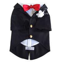 Buy cheap Size S Black Pet Puppy Dog Cat Clothes Apparel Coats Shirts Blouse Formal Dress from wholesalers