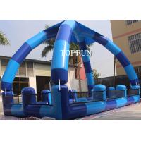 Buy cheap Blue PVC Kids Swimming Pools , Heat sealed Inflatable Swimming Pools 0.9 mm from wholesalers