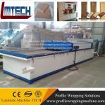 Buy cheap PVC film MDF Kitchen vacuum membrane press machine from wholesalers