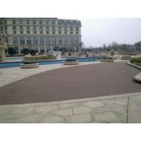 Buy cheap Moisture Resistant Hollow WPC Deck Flooring Board , Outside Garden Wood Tiles product
