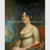 Buy cheap Noblewoman Oil Painting Reproduction Classic Portrait art Hand Painted on canvas from wholesalers