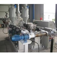 Corrugated Pipe Extrusion plastic product making machine With Big Diameter Line Manufactures