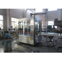 China Large Beer Filling Machine , Industrial Beer Brewing Equipment System Stainless Steel on sale