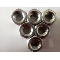 Buy cheap Hex Nut Nylon Lock Nut Hastelloy C276 UNS N10276 W.Nr.2.4819 Alloy C276 from wholesalers