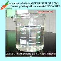 Buy cheap New generation Cement grinding aid CGA raw material DEIPA,better than TIPA/TEA from wholesalers