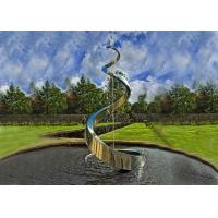 Buy cheap Decorative Artistic Water Fountains / Stainless Steel Outdoor Fountains For Garden from wholesalers