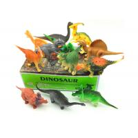 Wholesale Electrostatic Plastic Jurassic Dinosaur Toys , 12 Model Big Dinosaur Toys from china suppliers