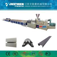 Buy cheap PVC Wood Plastic Composite Production Line Automatically High Speed 380 V from wholesalers