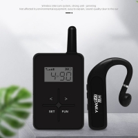 Wholesale Simultaneous Interpretation Bluetooth Tour Guide System Noiseless Explanation from china suppliers
