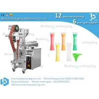 Buy cheap Bestar packaging machine manufacturing Ice pop filling and packaging,ice lollipop sachet packing machine from wholesalers