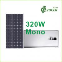 High Performance , 320W Monocrystalline Solar Panels with Efficiency up to 16.49% Manufactures